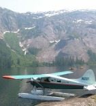 Seaplane and Salmon Rendezvous